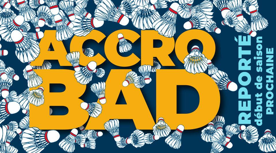 Report de l'ACCROBAD
